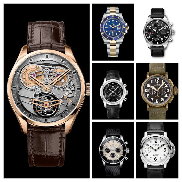 Rattrapante Luxury Watches